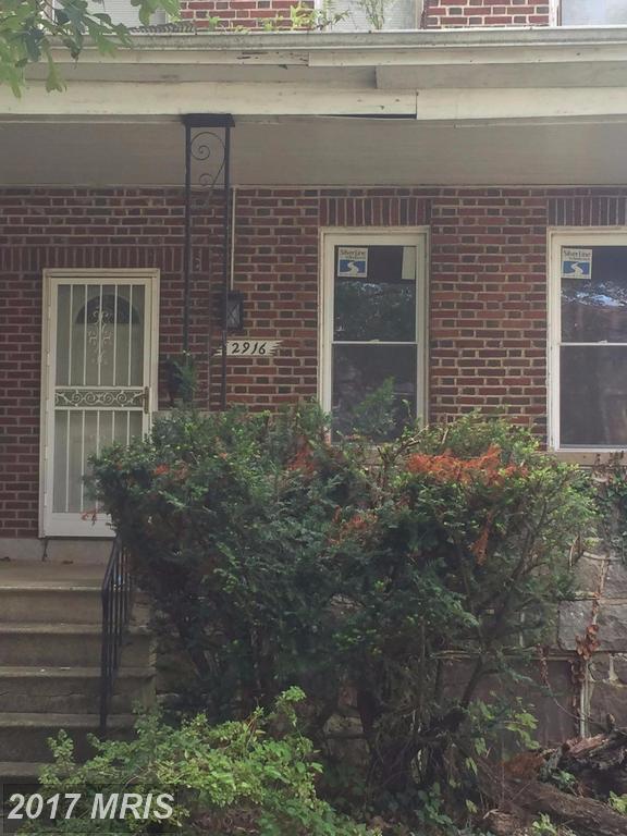 2916 Chelsea Terrace, Baltimore, MD 21216 (#BA10052744) :: Pearson Smith Realty