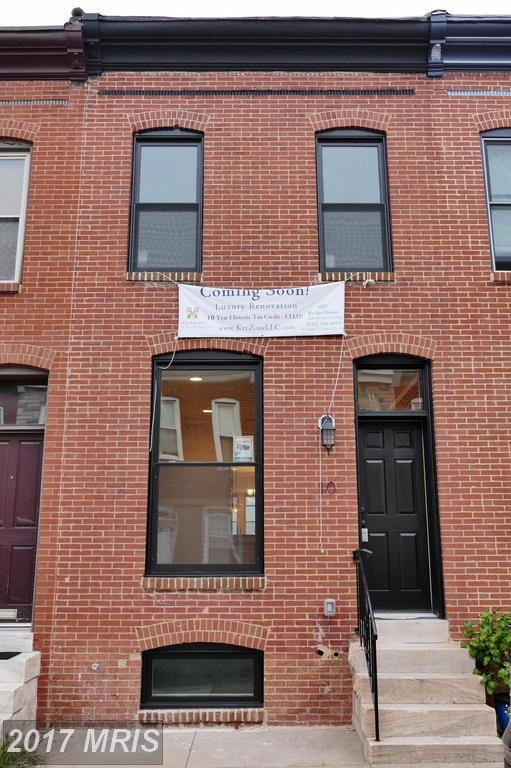 10 Curley Street N, Baltimore, MD 21224 (#BA10057565) :: Pearson Smith Realty