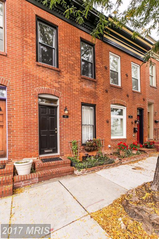 22 Collington Avenue S, Baltimore, MD 21231 (#BA10060624) :: LoCoMusings
