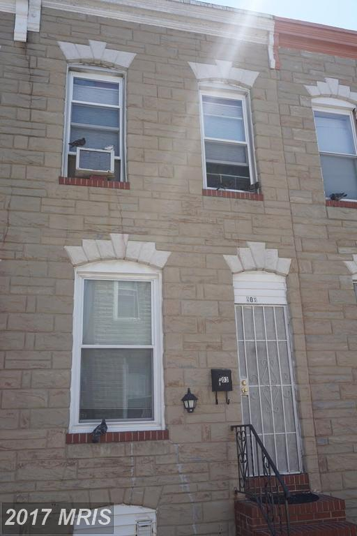 503 Port Street, Baltimore, MD 21205 (#BA10062388) :: Pearson Smith Realty
