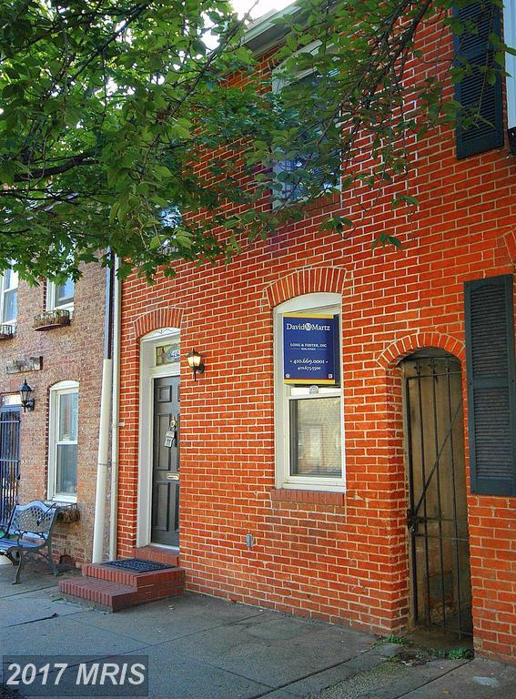 424 Wolfe Street, Baltimore, MD 21231 (#BA10063227) :: SURE Sales Group