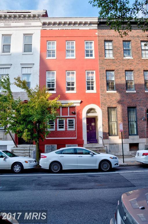 1402 Mcculloh Street, Baltimore, MD 21217 (#BA10065766) :: LoCoMusings