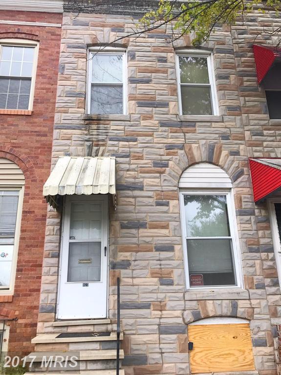 1123 Bayard Street, Baltimore, MD 21223 (#BA10081129) :: LoCoMusings