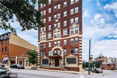 1001 Saint Paul Street 10A, Baltimore, MD 21202 (#BA10082014) :: Pearson Smith Realty