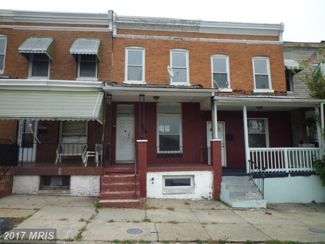 1623 Warwick Avenue, Baltimore, MD 21216 (#BA10082273) :: LoCoMusings