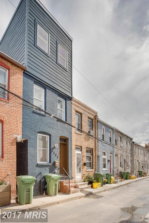 309 Duncan Street S, Baltimore, MD 21231 (#BA10083207) :: The Sebeck Team of RE/MAX Preferred
