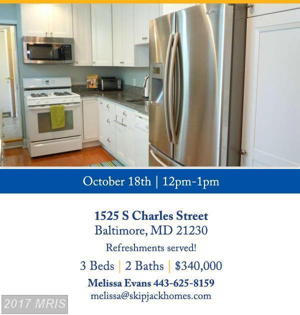 1525 Charles Street S, Baltimore, MD 21230 (#BA10083697) :: LoCoMusings