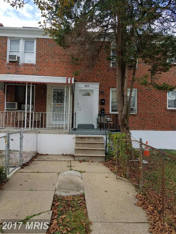 4914 Poe Avenue, Baltimore, MD 21215 (#BA10084424) :: The Gus Anthony Team
