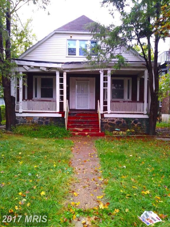3503 Garrison Boulevard, Baltimore, MD 21215 (#BA10084569) :: The Bob & Ronna Group
