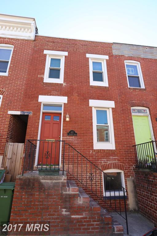 117 Clement Street, Baltimore, MD 21230 (#BA10085445) :: Network Realty Group