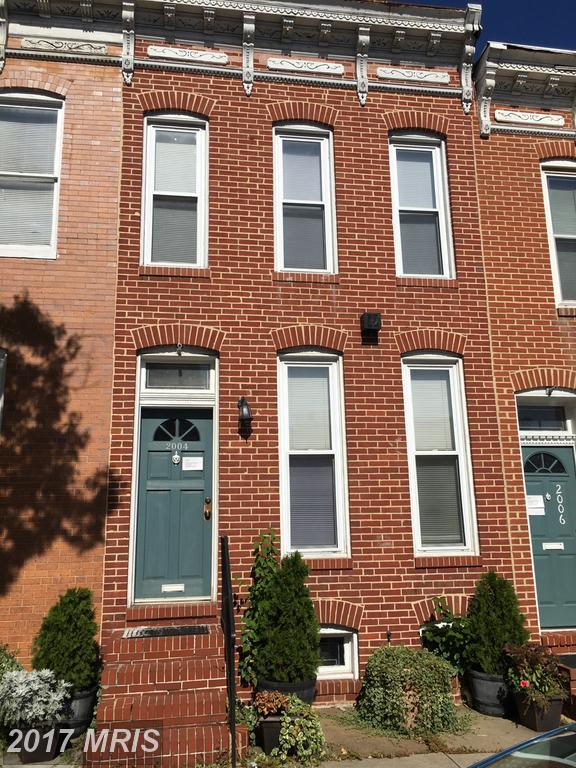 2004 Mcelderry Street, Baltimore, MD 21205 (#BA10085756) :: The Dailey Group