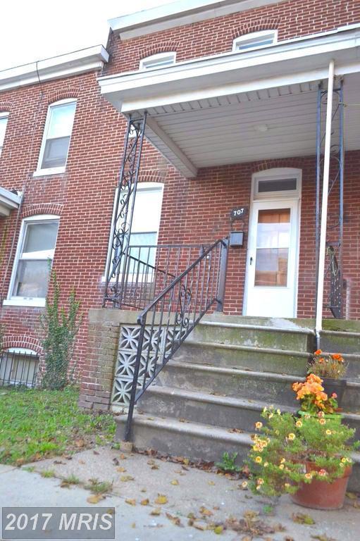 707 E. 37Th Street, Baltimore, MD 21218 (#BA10088279) :: The Vashist Group