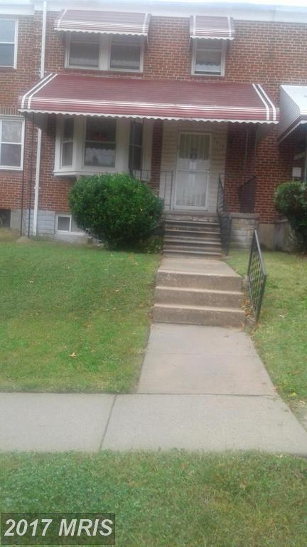 1514 E 36 Th Street, Baltimore, MD 21218 (#BA10093120) :: Pearson Smith Realty