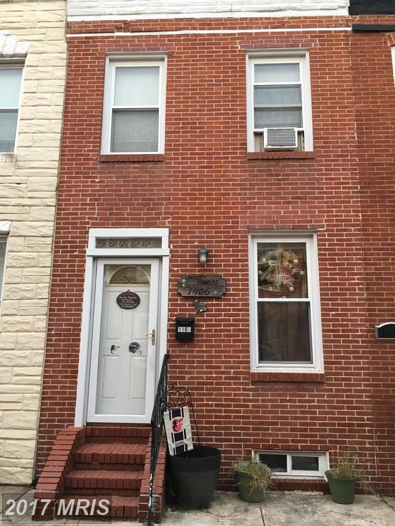 1406 Cooksie Street, Baltimore, MD 21230 (#BA10095430) :: The Cox & Cox Group at Keller Williams Realty International