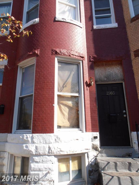 2203 Barclay Street, Baltimore, MD 21218 (#BA10098614) :: LoCoMusings