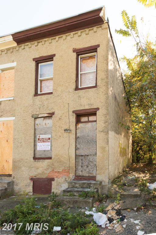1713 Vine Street, Baltimore, MD 21223 (#BA10102814) :: Pearson Smith Realty