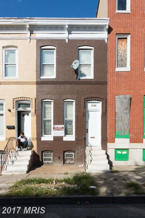 1332 Mosher Street W, Baltimore, MD 21217 (#BA10102841) :: Pearson Smith Realty