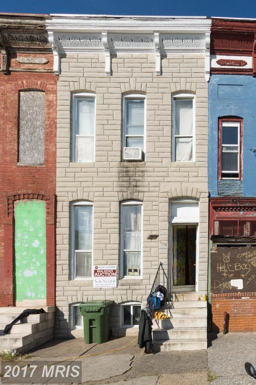 1302 Mosher Street W, Baltimore, MD 21217 (#BA10102843) :: Pearson Smith Realty