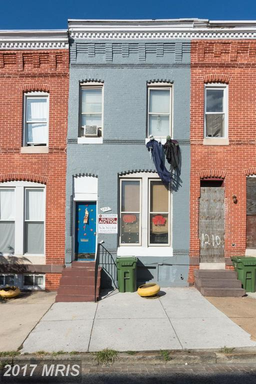 1212 Mosher Street W, Baltimore, MD 21217 (#BA10102844) :: Pearson Smith Realty