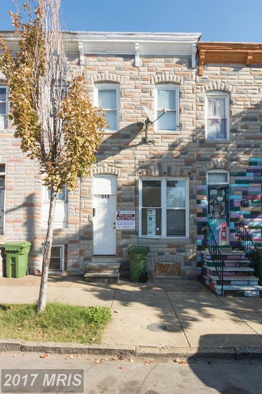 213 Monroe Street S, Baltimore, MD 21223 (#BA10102845) :: Pearson Smith Realty