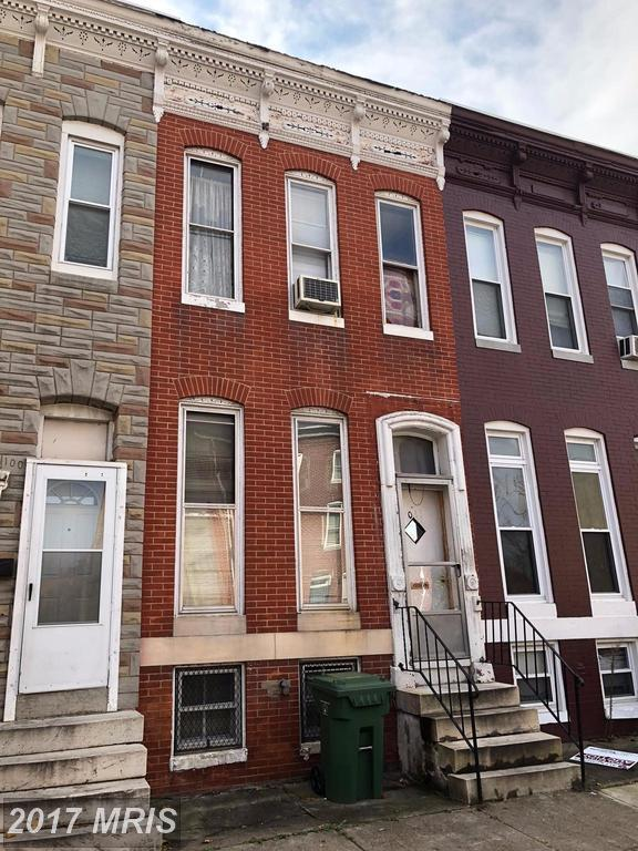 1011 Fayette Street W, Baltimore, MD 21223 (#BA10103283) :: Pearson Smith Realty