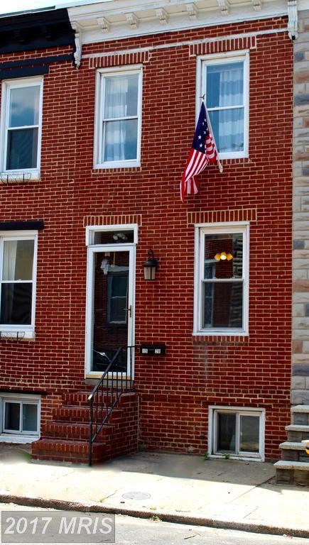1528 Clarkson Street, Baltimore, MD 21230 (#BA10106636) :: The Miller Team