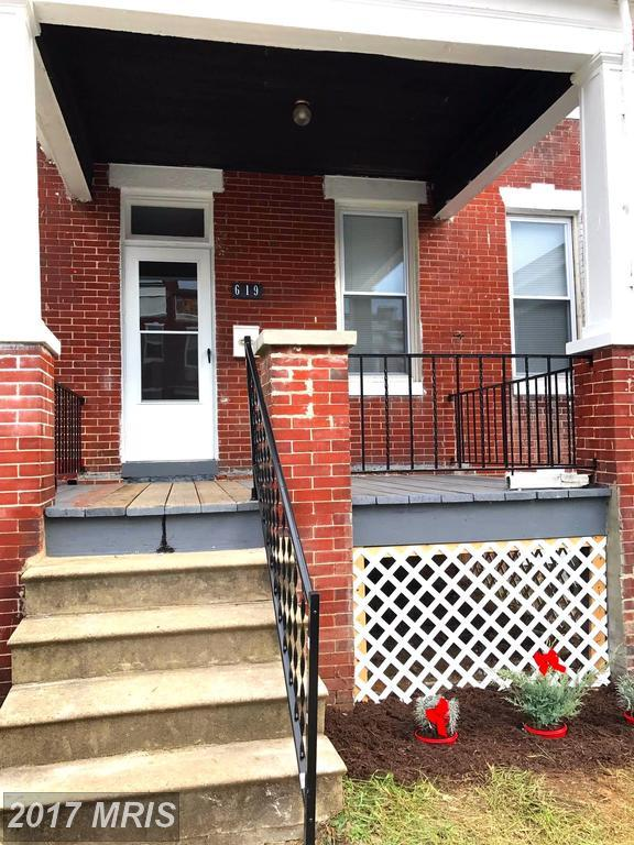 619 Linnard Street, Baltimore, MD 21229 (#BA10107141) :: The Sky Group