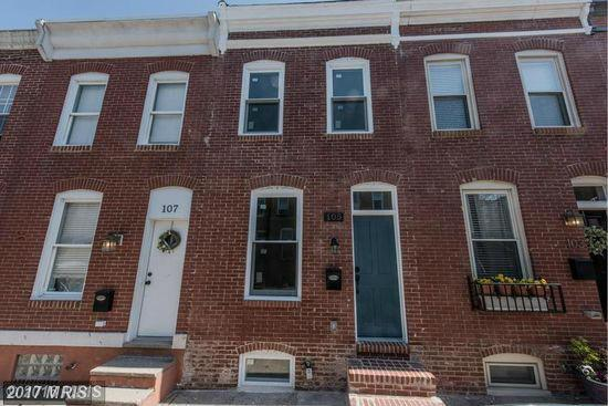 105 N Rose Street, Baltimore, MD 21224 (#BA10107441) :: The Bob & Ronna Group