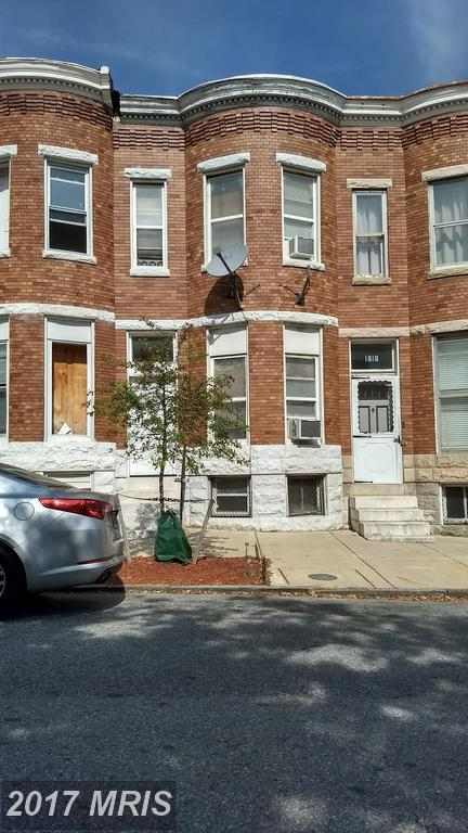 1820 Walbrook Avenue, Baltimore, MD 21217 (#BA10109672) :: Pearson Smith Realty