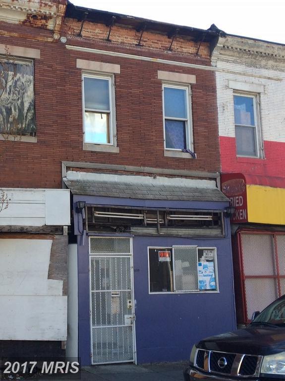 2039 Edmondson Avenue, Baltimore, MD 21223 (#BA10111506) :: Pearson Smith Realty