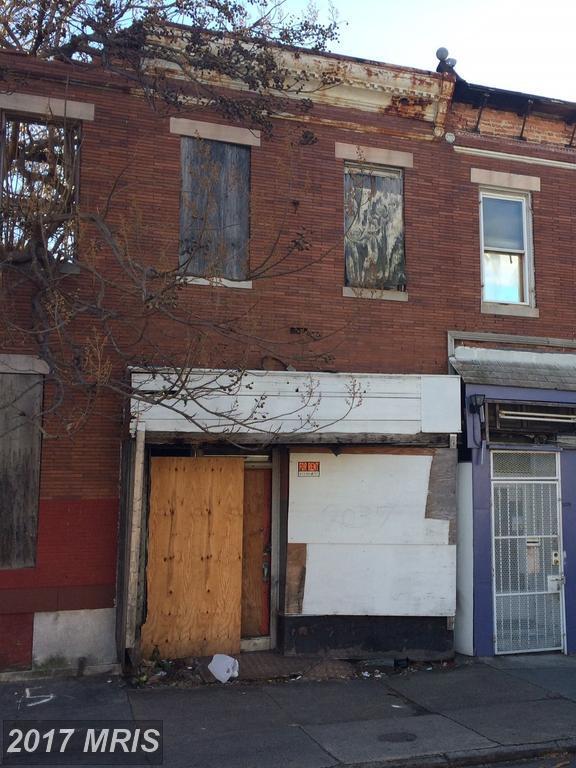 2037 Edmondson Avenue, Baltimore, MD 21223 (#BA10111516) :: Pearson Smith Realty