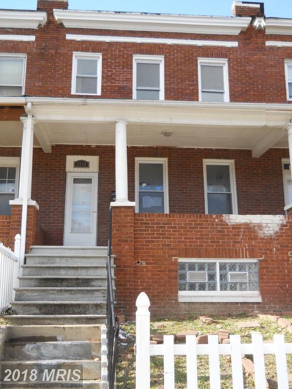 1530 Payson Street, Baltimore, MD 21217 (#BA10130099) :: Pearson Smith Realty