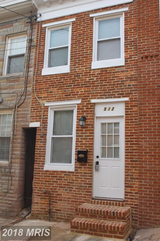 512 Chapel Street, Baltimore, MD 21231 (#BA10133662) :: Pearson Smith Realty