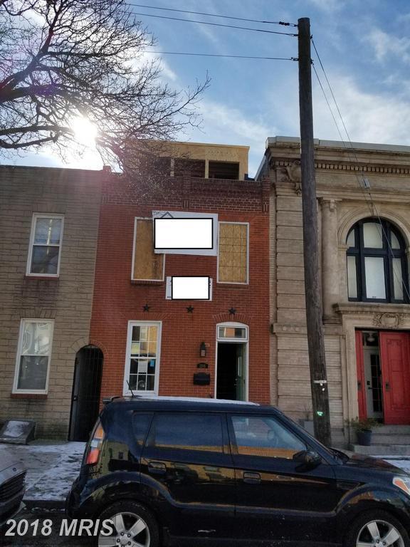 3205 Elliott Street, Baltimore, MD 21224 (#BA10136700) :: The Dailey Group