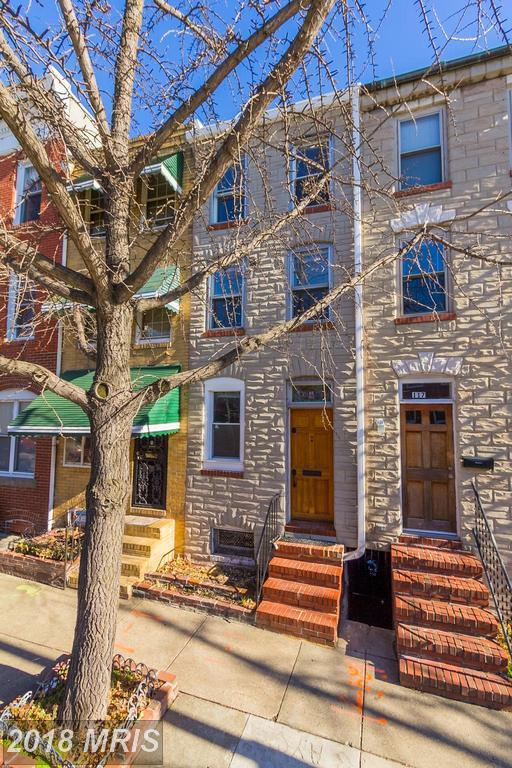 115 Wolfe Street, Baltimore, MD 21231 (#BA10136751) :: The Dailey Group