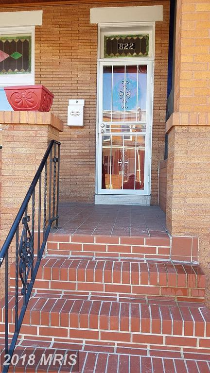 822 Linwood Avenue N, Baltimore, MD 21205 (#BA10139028) :: Pearson Smith Realty