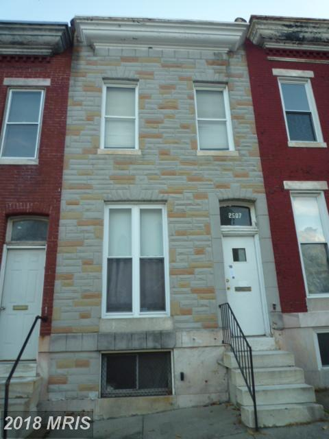 2507 Lombard Street, Baltimore, MD 21223 (#BA10140544) :: Jim Bass Group of Real Estate Teams