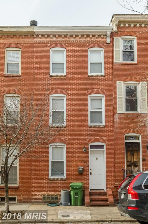 1462 William Street, Baltimore, MD 21230 (#BA10154625) :: The Gus Anthony Team