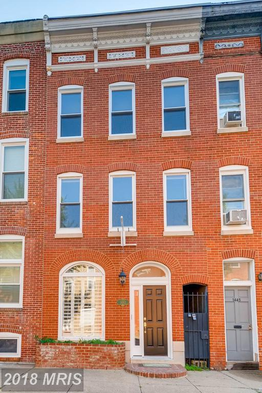 1443 William Street, Baltimore, MD 21230 (#BA10156679) :: The Gus Anthony Team
