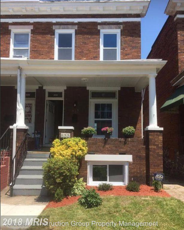 833 Bentalou Street, Baltimore, MD 21216 (#BA10158917) :: CORE Maryland LLC