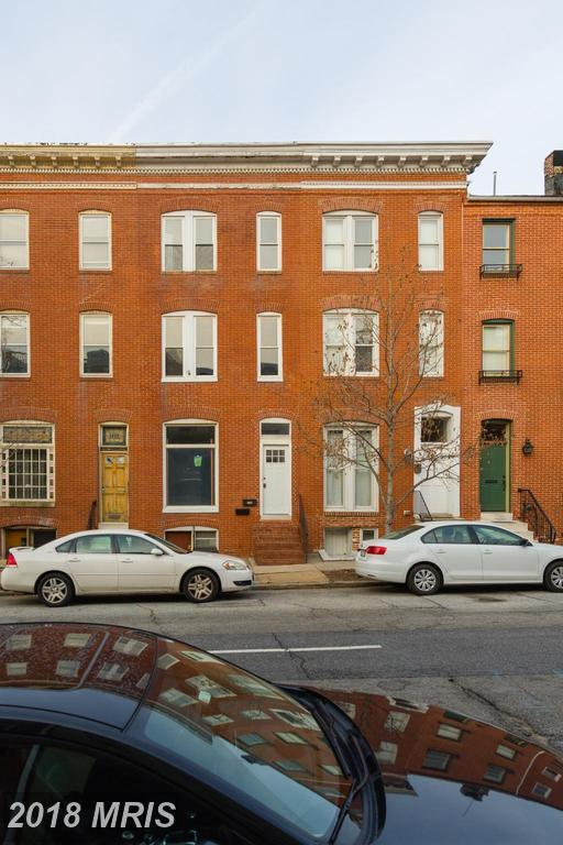 126 Washington Street S, Baltimore, MD 21231 (#BA10159689) :: Century 21 New Millennium