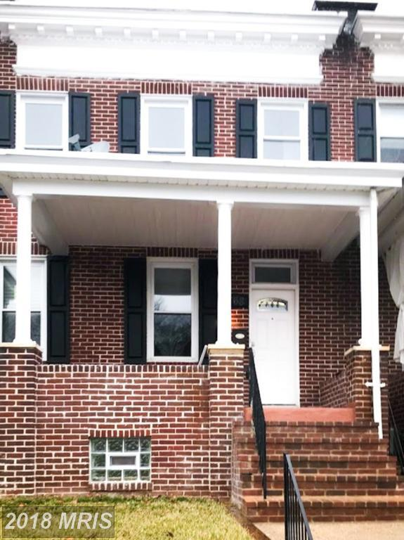 768 E 36Th Street, Baltimore, MD 21218 (#BA10160358) :: The Gus Anthony Team
