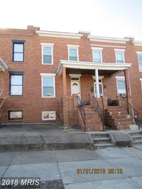 3629 Fayette Street, Baltimore, MD 21224 (#BA10160928) :: SURE Sales Group