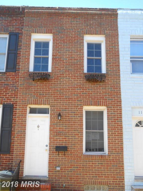 1112 Sterrett Street, Baltimore, MD 21230 (#BA10161035) :: CR of Maryland