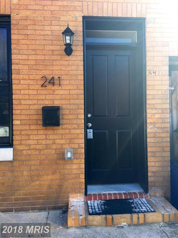241 S. Regester Street, Baltimore, MD 21231 (#BA10166313) :: CR of Maryland