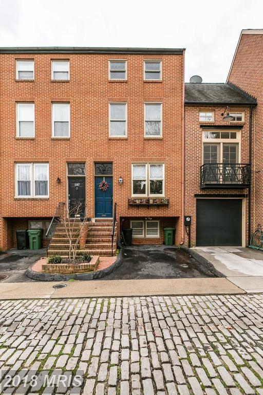 109 Hughes Street W, Baltimore, MD 21230 (#BA10170579) :: CR of Maryland