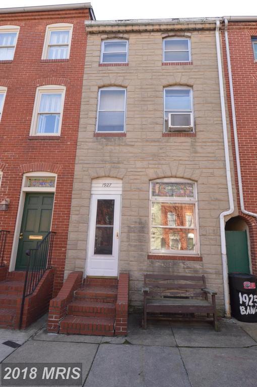 1927 Bank Street, Baltimore, MD 21231 (#BA10170863) :: SURE Sales Group