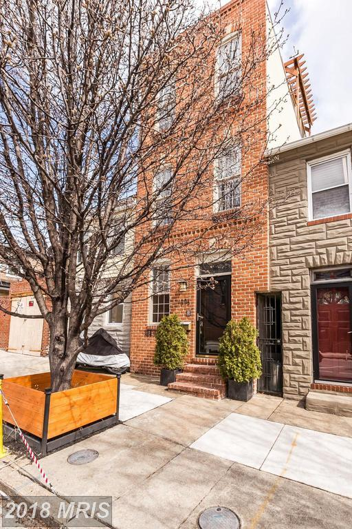 803 Potomac Street S, Baltimore, MD 21224 (#BA10181799) :: SURE Sales Group