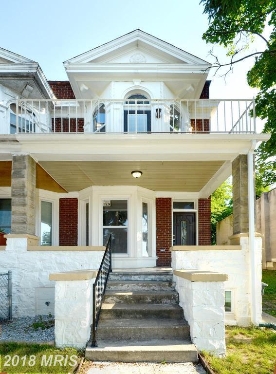 3410 Mondawmin Avenue, Baltimore, MD 21216 (#BA10181867) :: Dart Homes