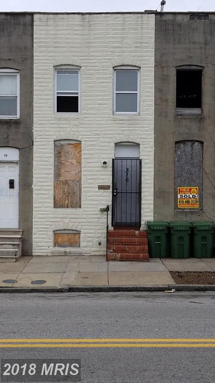 316 Payson Street S, Baltimore, MD 21223 (#BA10181889) :: SURE Sales Group
